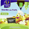 Gourdes aux fruits Pomme sans sucres ajoutés - Produit