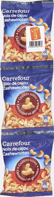 Noix de cajou grillées salées - Produit - fr