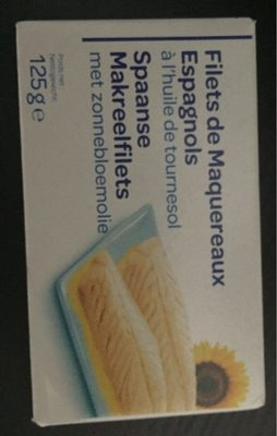Filets de maquereaux espagnols - Produkt
