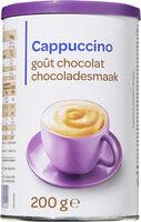 Cappuccino goût chocolat - Product - fr