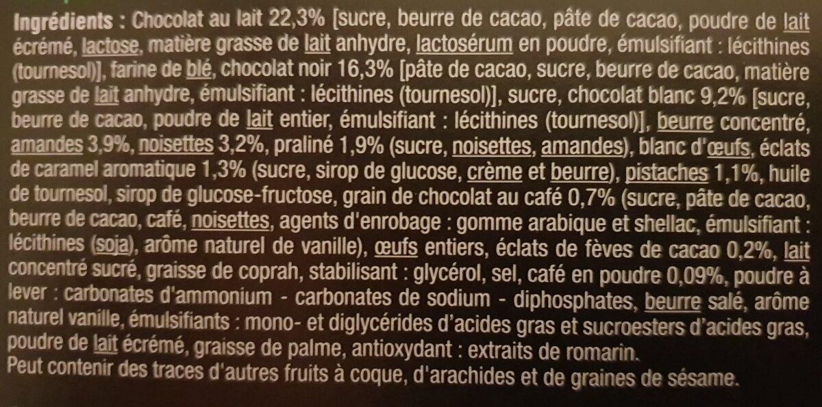 Dégustation Gourmande Assortiment de biscuits pâtissiers - Ingredients - fr