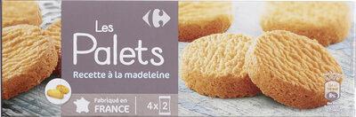 Les Palets Recette à la Madeleine - Product - fr