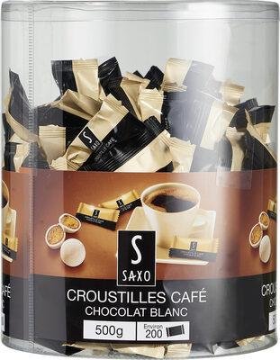 Croustilles cafe chocolat blanc - Product - fr