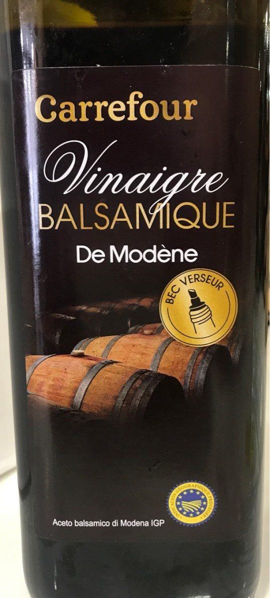 Vinaigre balsamique - Product - fr