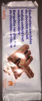 Gaufrettes enrobées de chocolat au lait - Producto