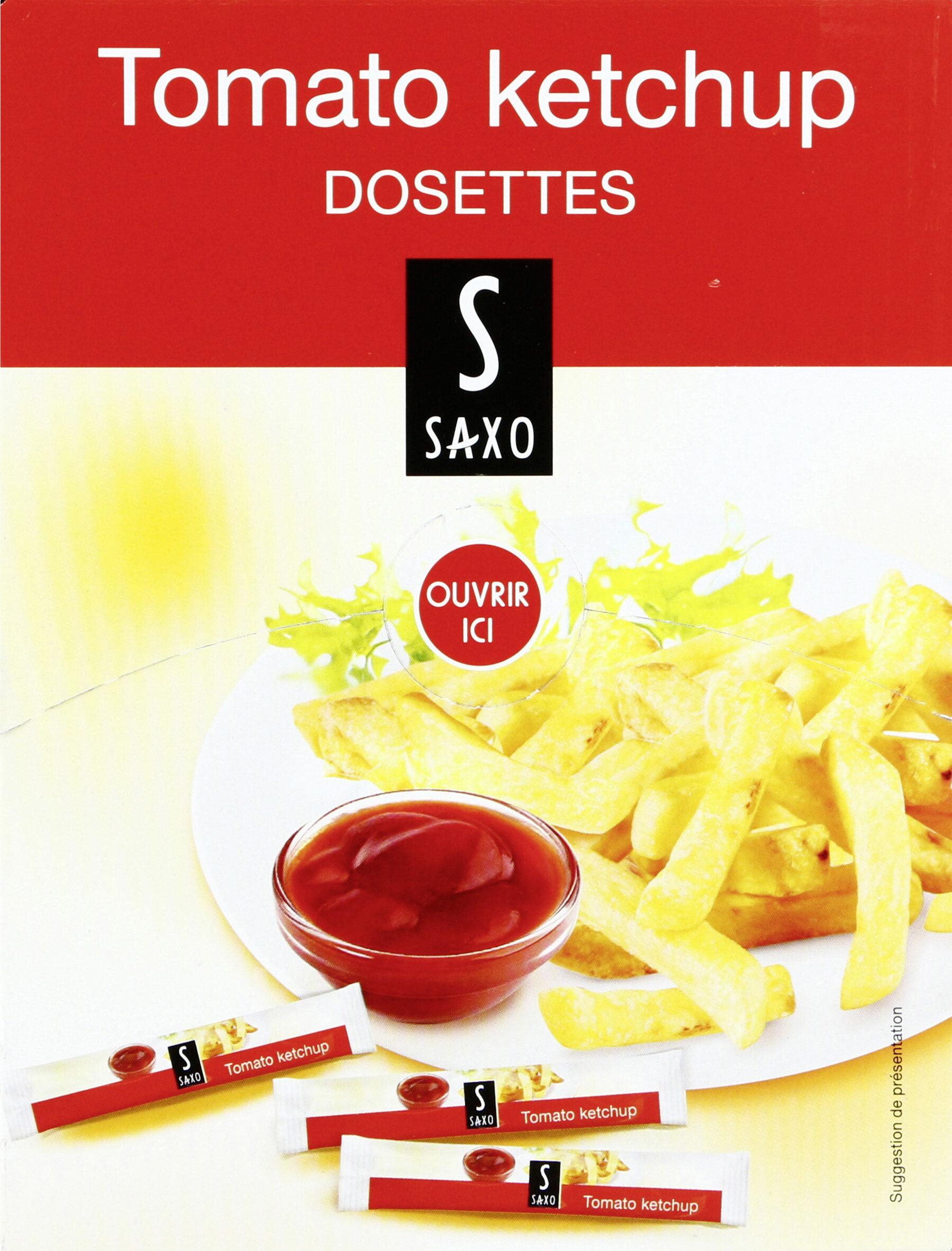 Tomato Ketchup dosettes - Prodotto - fr