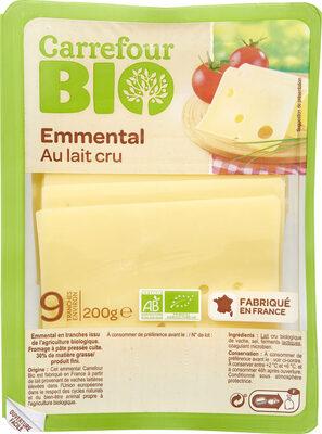 Emmental Au lait cru - Prodotto