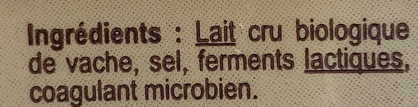 Emmental Au lait cru - Ingredienti - fr