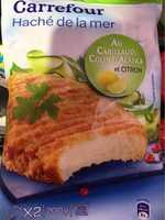Haché de la mer cabillaud colin citron - Product