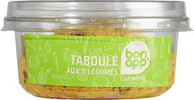 Taboulé aux 5 Légumes - Produit