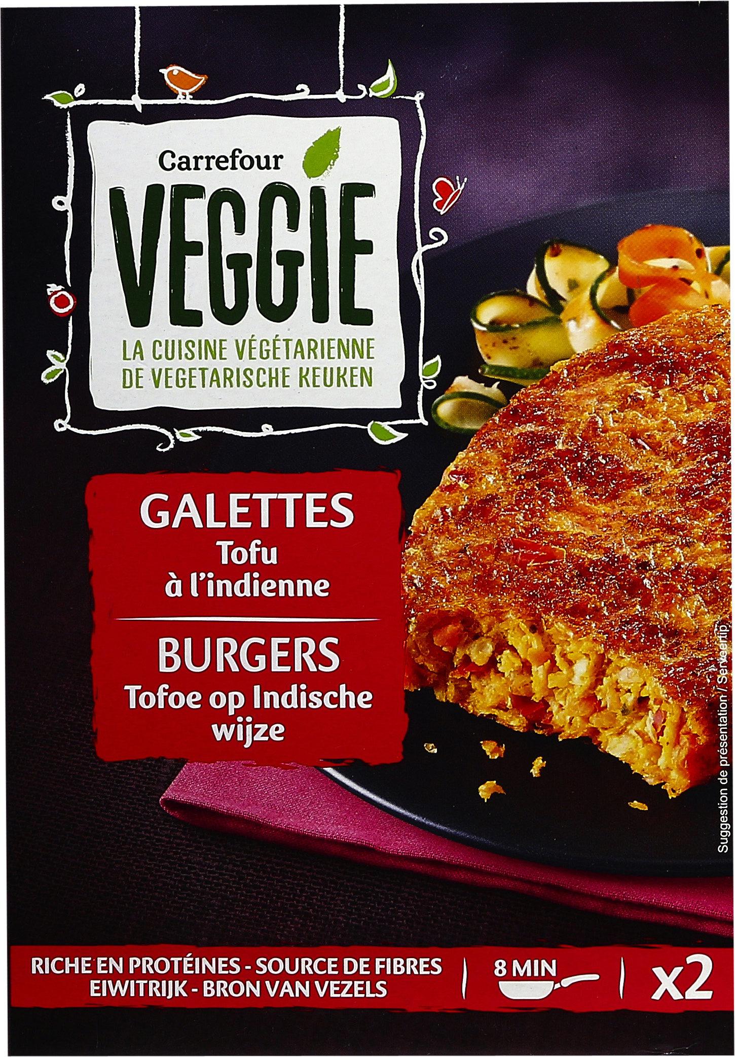 Galettes tofu à l'indienne - Product