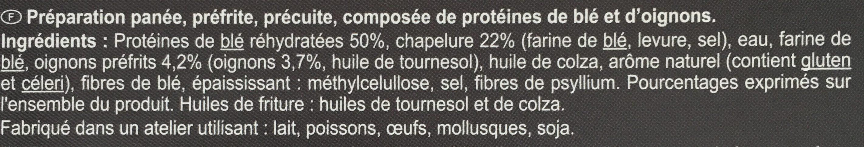 Nuggets Blé, Oignon - Ingrédients - fr