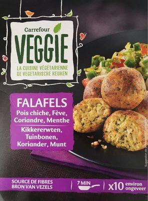 Veggie - Falafels - Garbanzos, habas, hilantro, hierbabuena - Produit