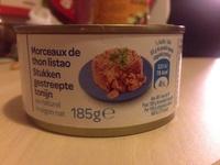 Morceaux de thon listao - Product - fr
