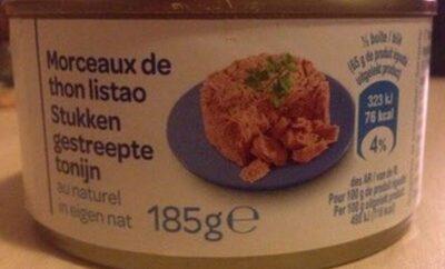 Morceaux de thon listao - Produkt - pl
