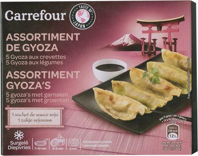 Assortiment de gyoza - Product - fr