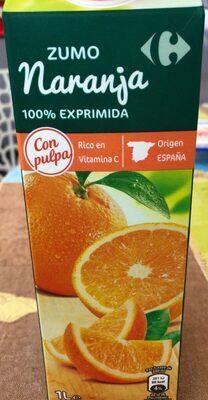 Zumo naranja 100% exprimido - Producto - es