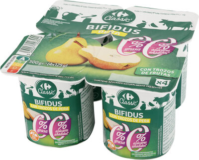 Bifidus 00% con pera - Prodotto - es