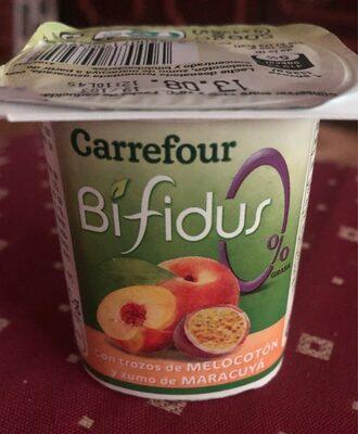 Yogur Bifidus trozos de melocoton y maracuyá - Producto - es