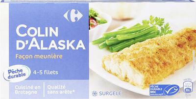 Filets de Colin d'Alaska Façon Meunière - Product - fr