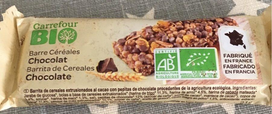 Barre céréales chocolat - Producto