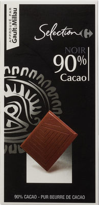 Chocolate 90% cacao - Producto