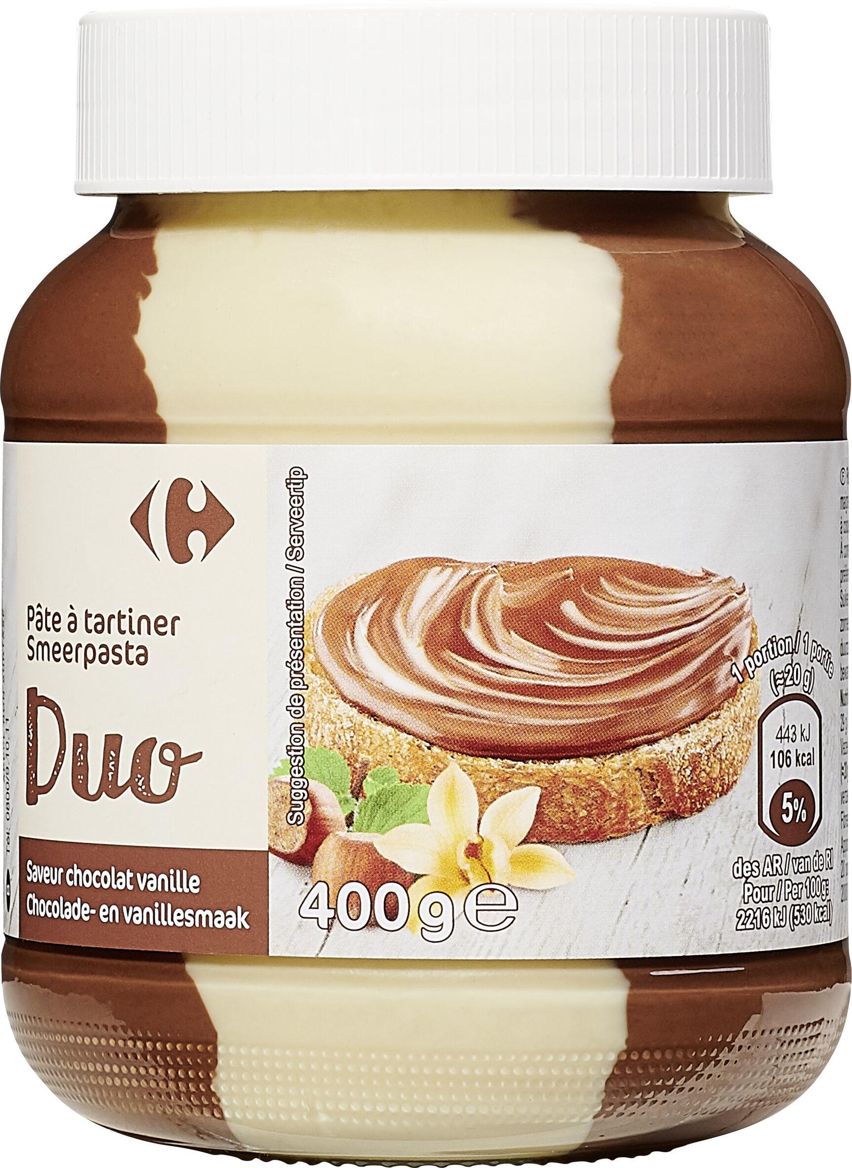 Pâte à tartiner DUO - Product