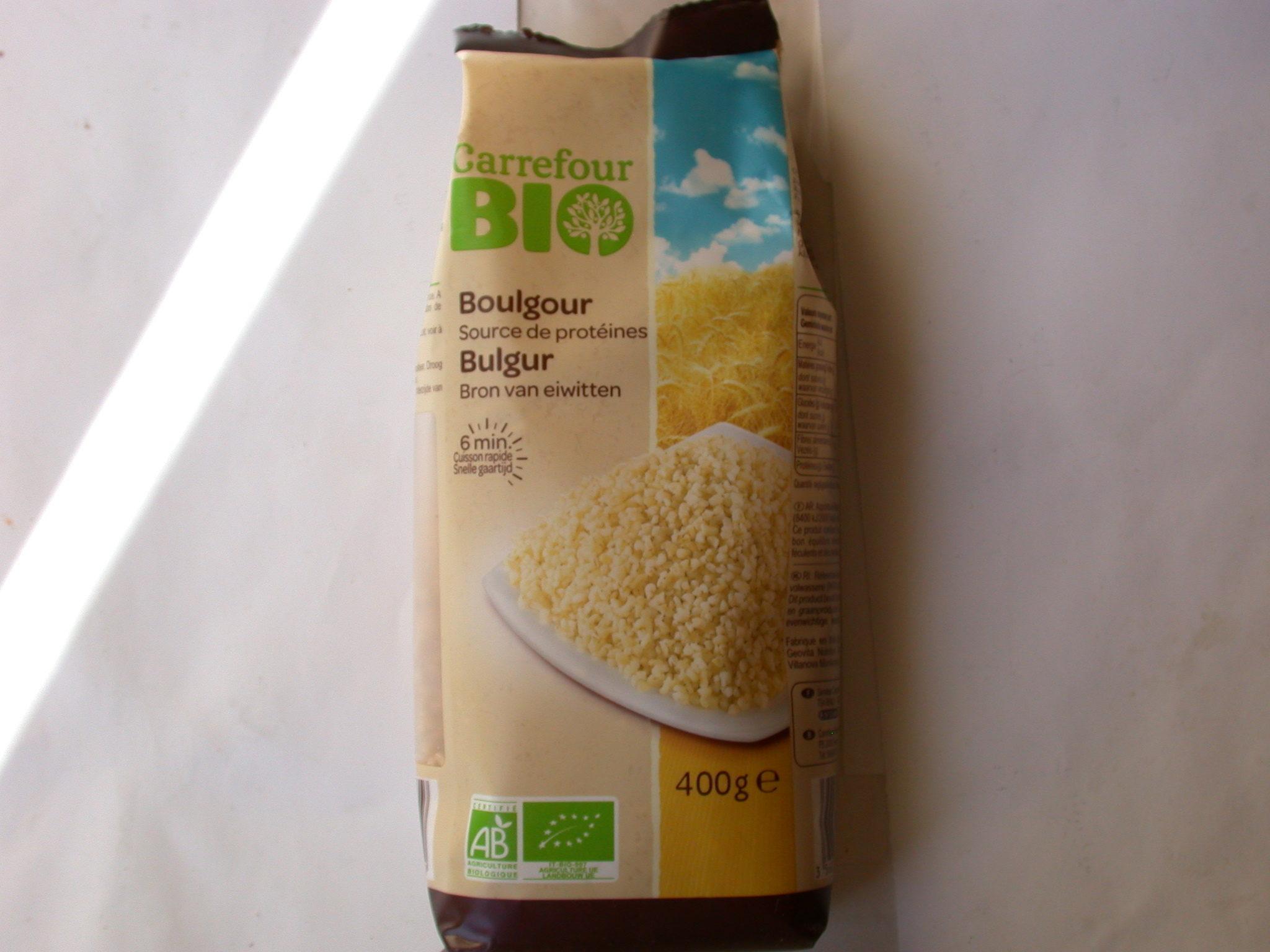 Boulgour Bio - Ingrédients - fr