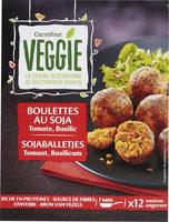 Boulettes au soja Tomate Basilic - Produkt - fr