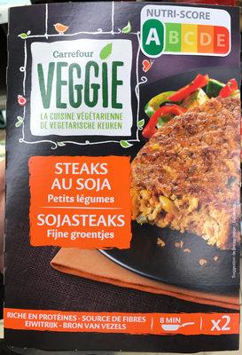 Steaks aux Soja Petits Légumes - Product