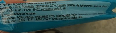 Panini - Ingrédients - fr