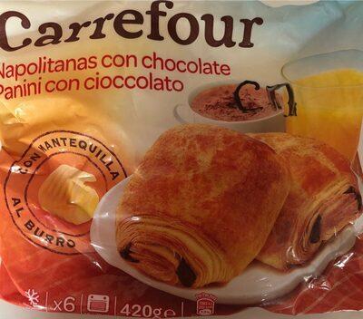 Napolitanas de chocolate - Product - es