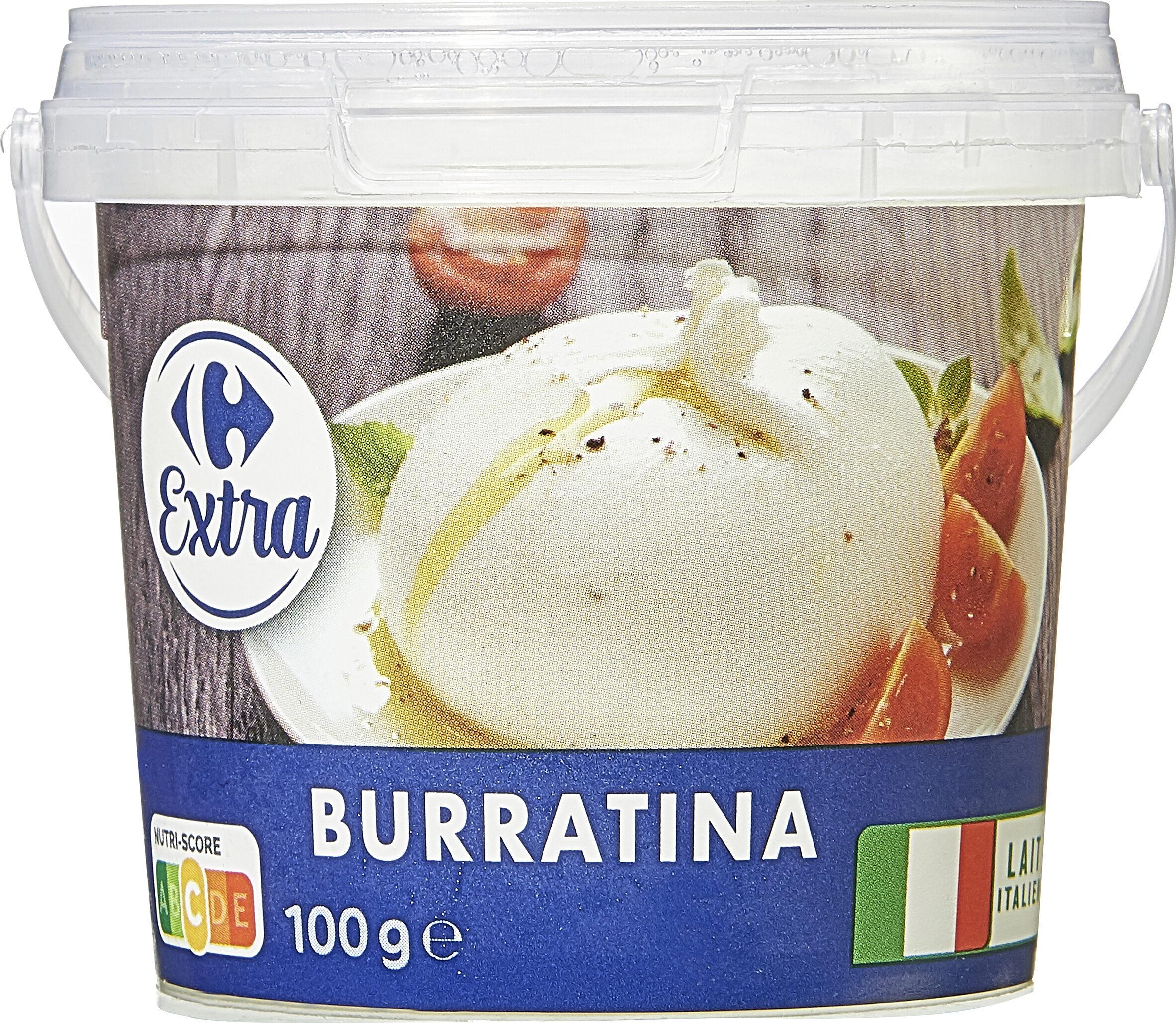 Stracciatella di Burrata - Product - fr