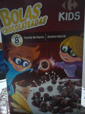 Bolas chocolateadas - Producto