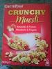 Crunchy Muesli Amandes & Fraises - Product