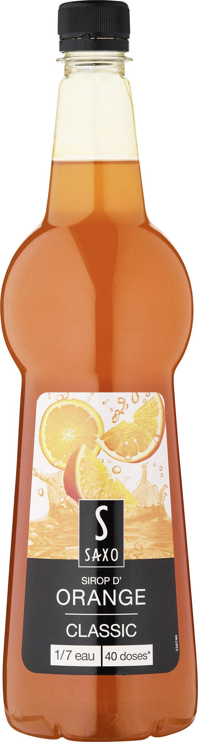 Sirop d'orange - Prodotto - fr