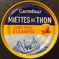 Miettes de Thon Sauce Tomate à la Harissa - Produit