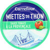 Miettes de thon sauce tomate à la provençale - Prodotto