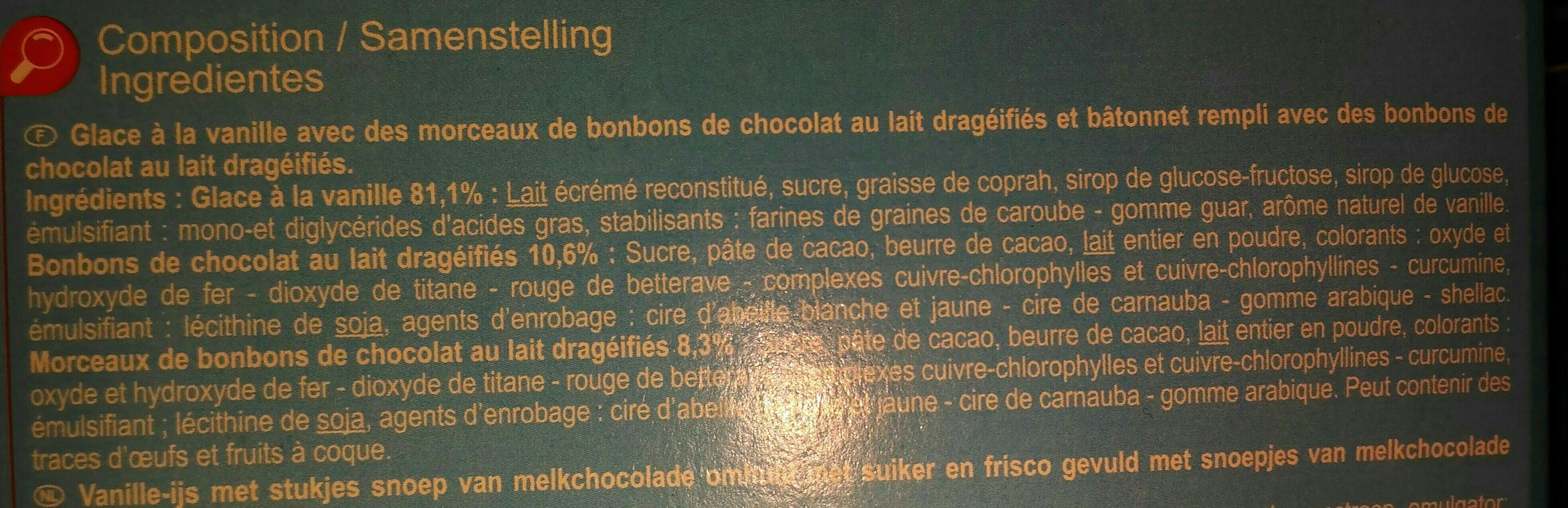 Ice sweet - Ingredients - fr