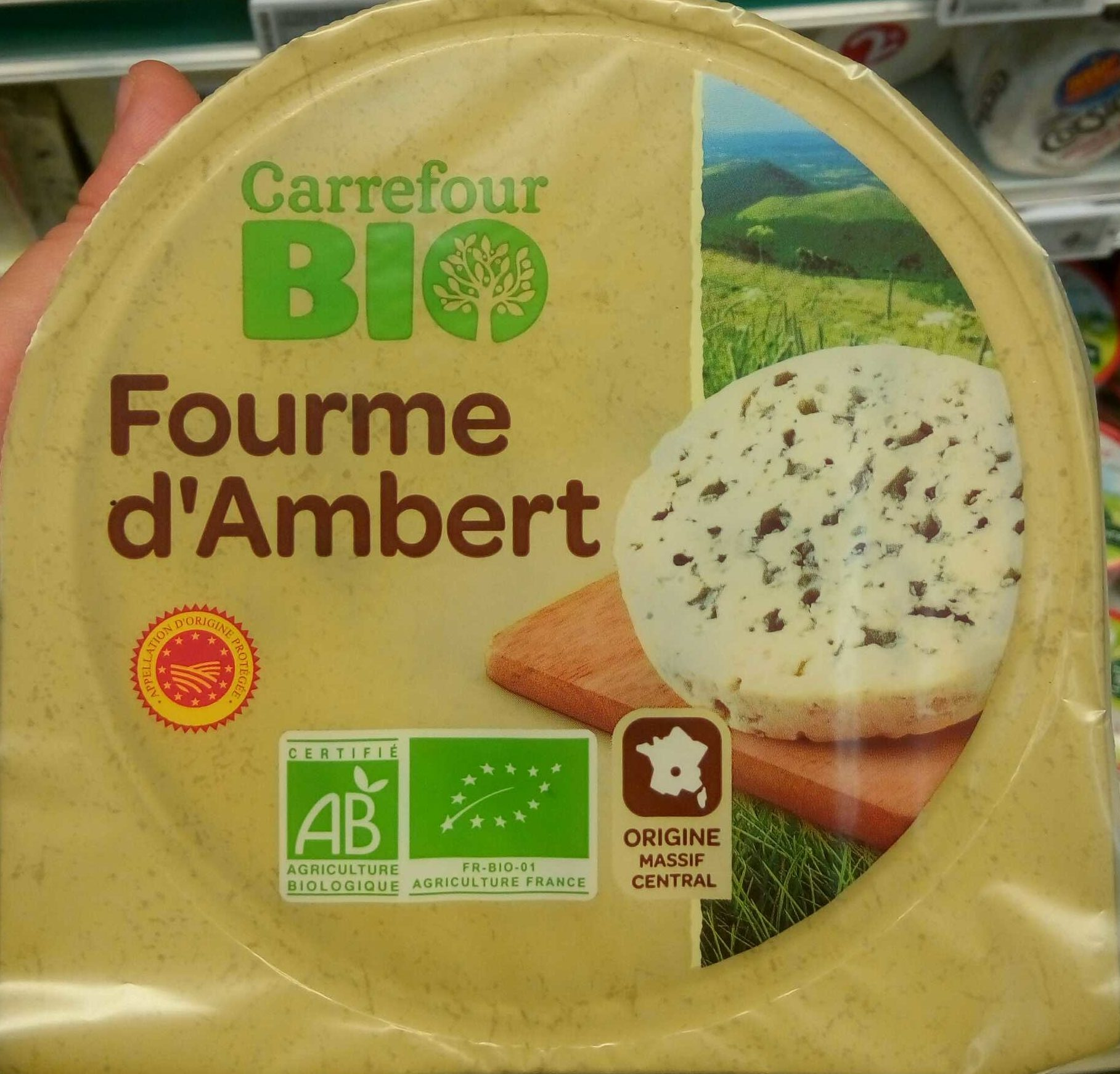 Fourme d'Ambert Bio - Produit - fr
