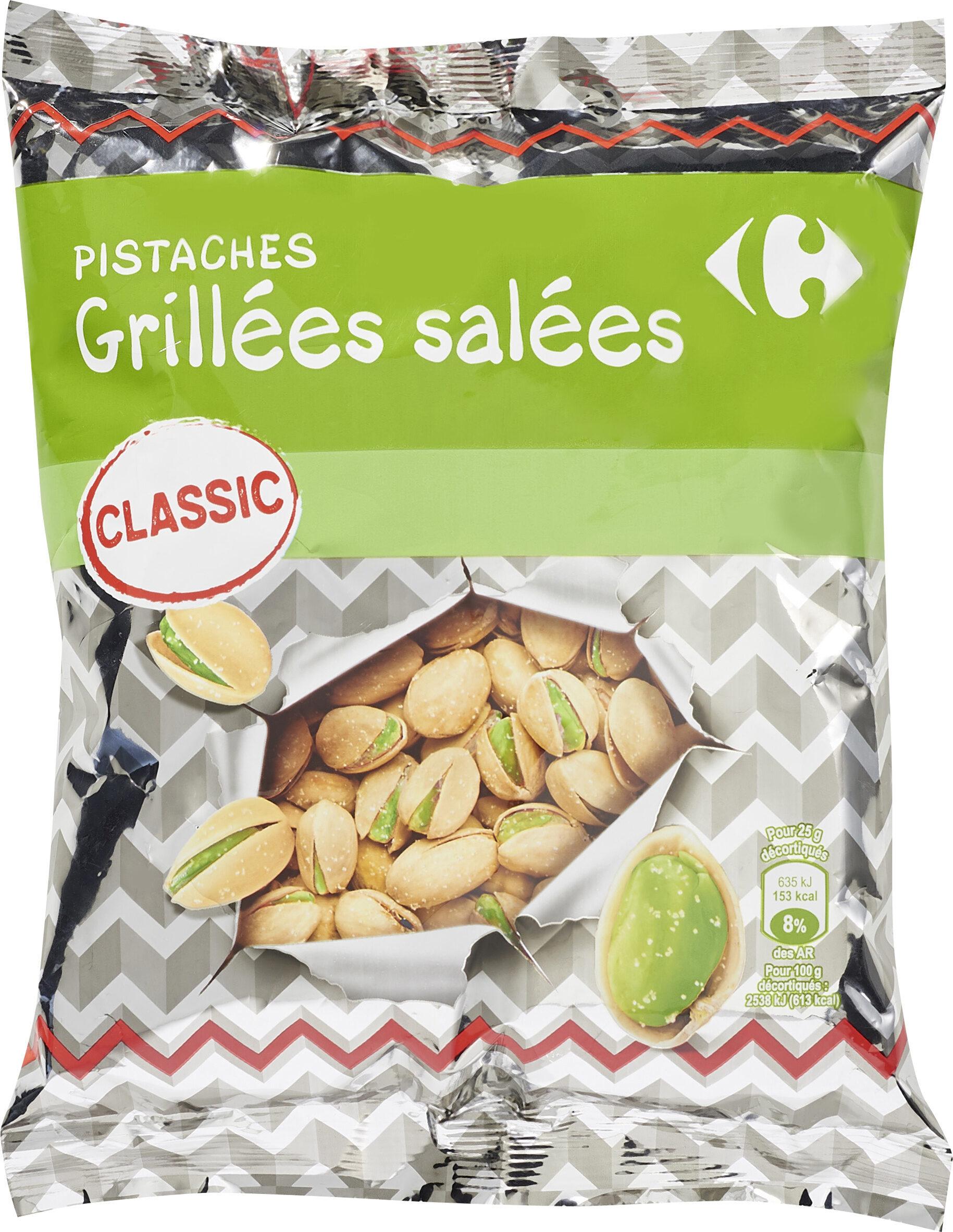 Pistaches grillées salées - Prodotto - fr