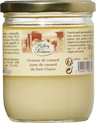 Graisse de canard issue de canard du Sud-Ouest - Product - fr