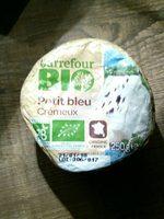 Fromage bio petit bleu crémeux Bio - Produit - fr