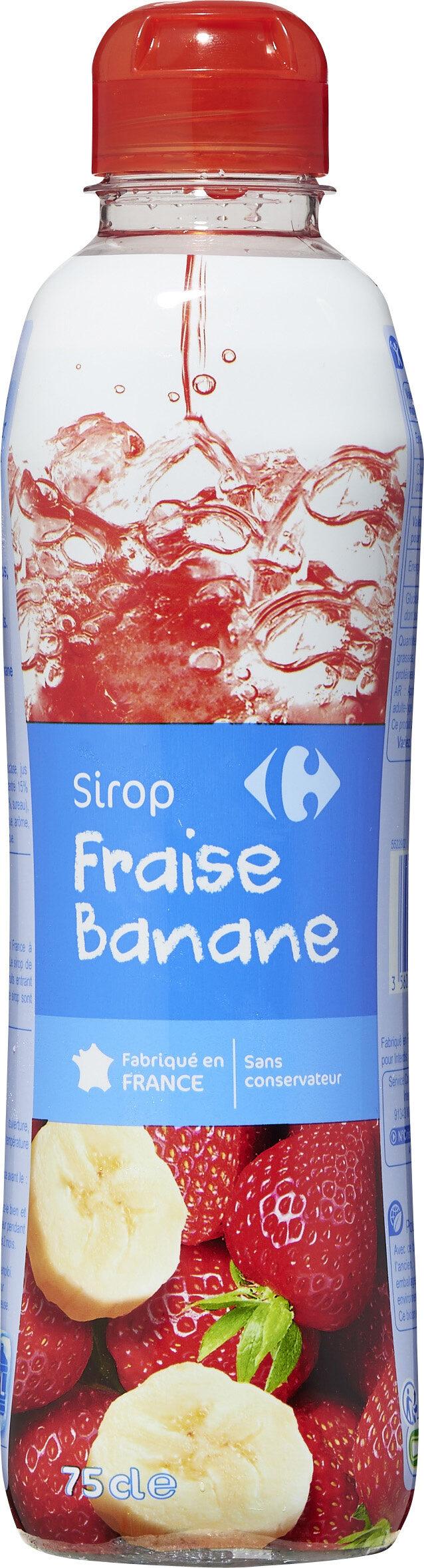 Fraise Banane - Prodotto - fr