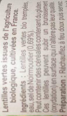 Lentilles vertes au sel de Noirmoutier - 3