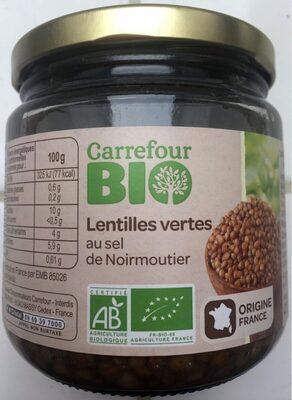 Lentilles vertes au sel de Noirmoutier - Produit