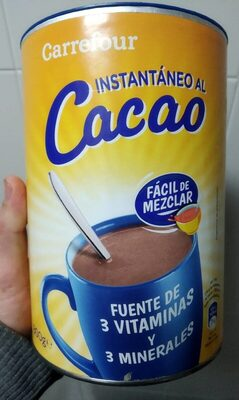 Cacao instantáneo - Producto