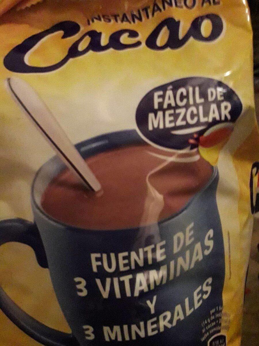 instantáneo al cacao - Producto