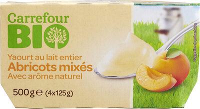 Yaourt au lait entier  Abricot mixé Avec arôme naturel - Product - fr