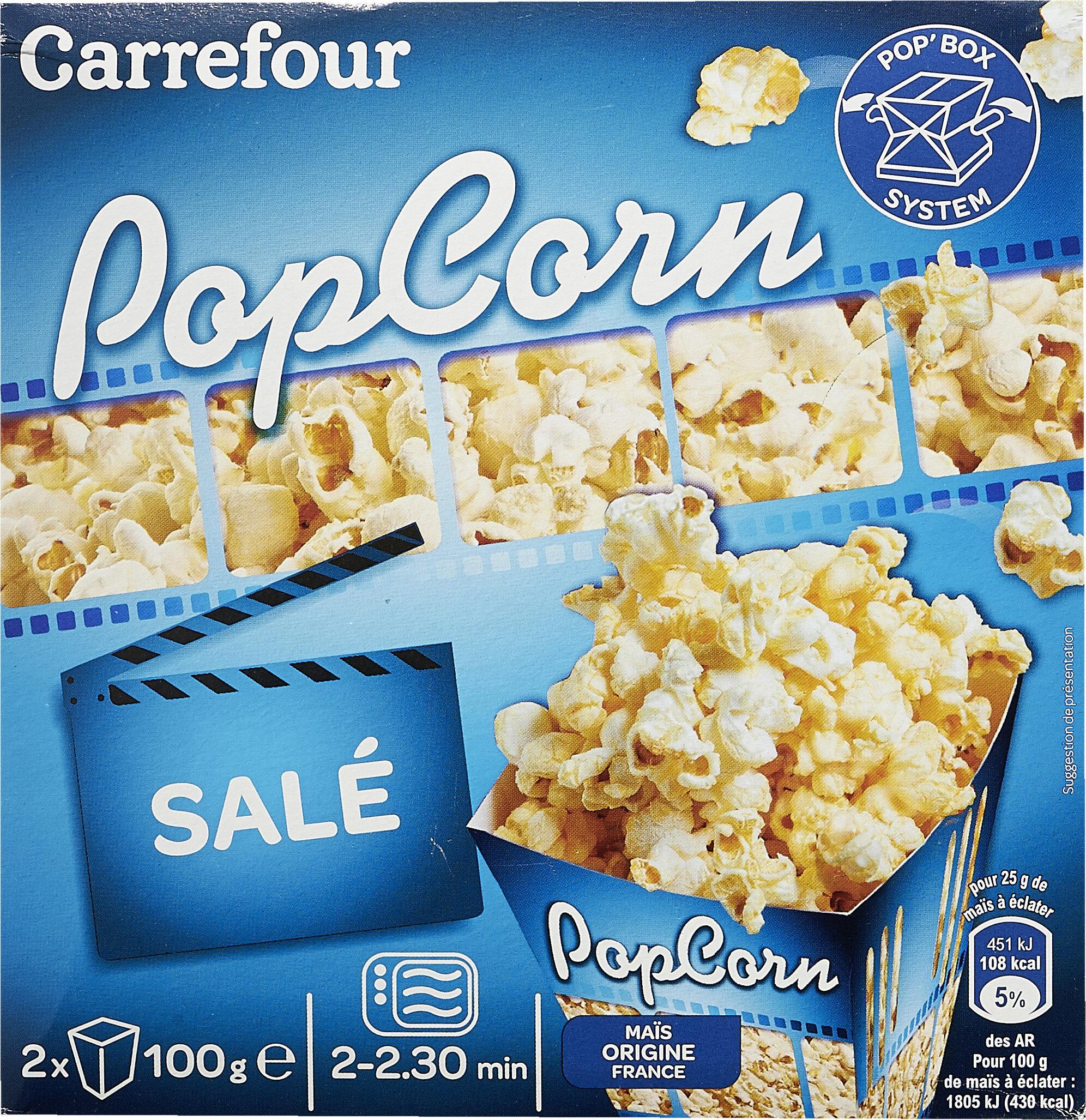 Popcorn salé - Prodotto - fr